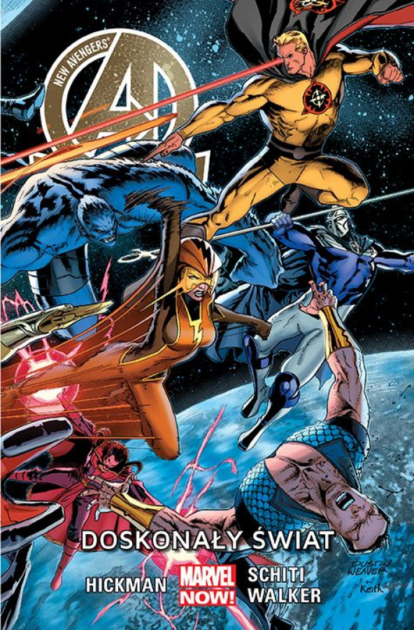New Avengers: Doskonały świat - Tom 4