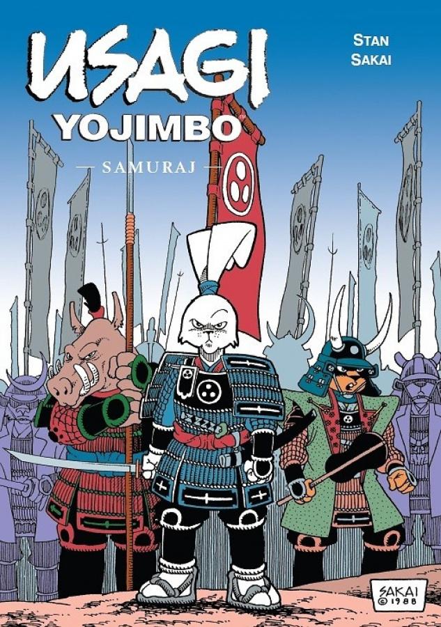 Usagi Yojimbo: Tom 02 - Samuraj