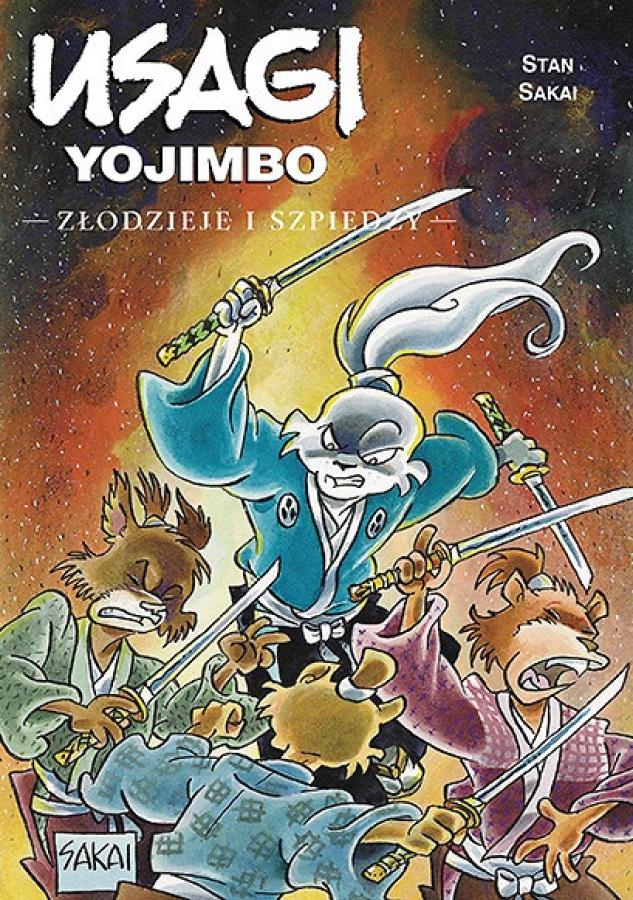 Usagi Yojimbo: Tom25 - Złodzieje i Szpiedzy