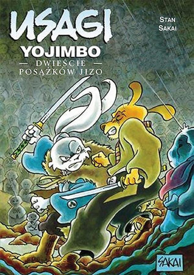 Usagi Yojimbo: Tom 24 -  Dwieście Posążków Jizo