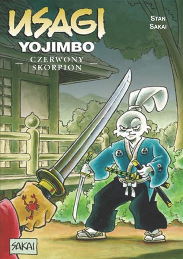 Usagi Yojimbo: Tom 22 - Czerwony Skorpion