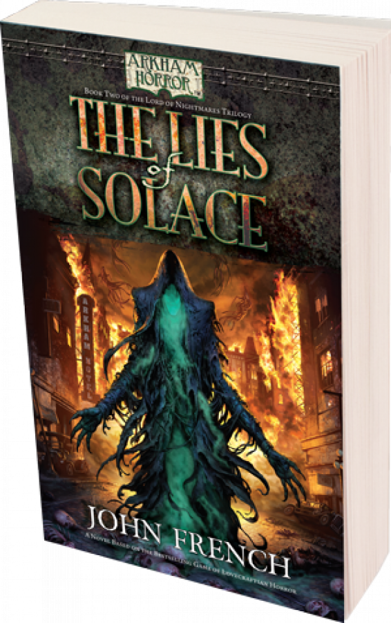 Arkham Horror Novel: The Lies of Solace