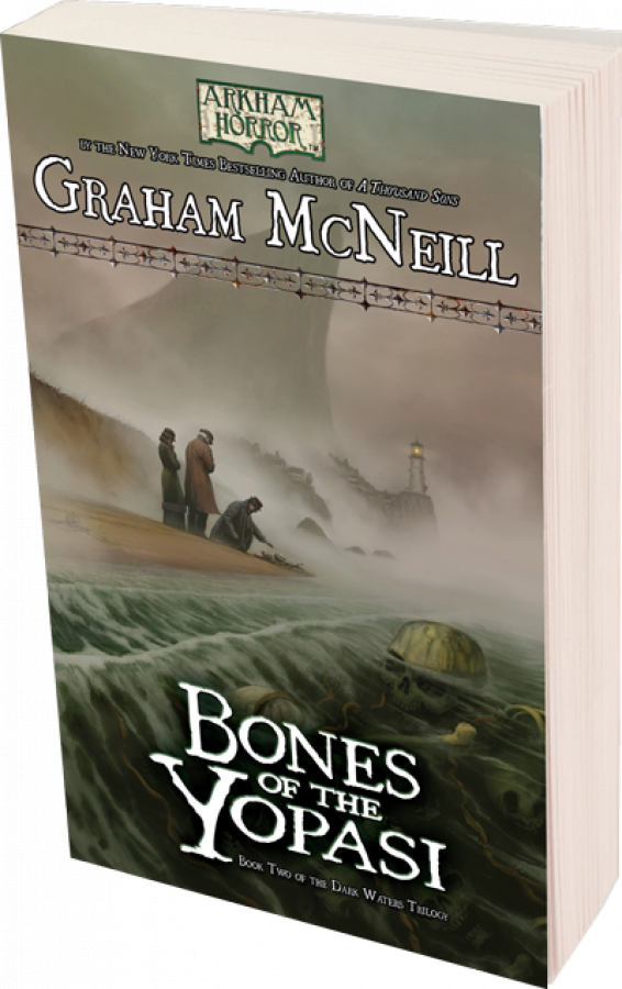 Arkham Horror Novel: Bones of the Yopasi