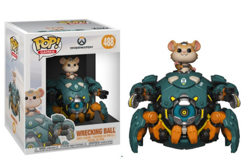 "Funko POP Games: Overwatch 6"" - Wrecking Ball"