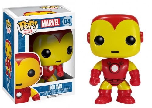 Funko POP Marvel Bobble: Iron Man