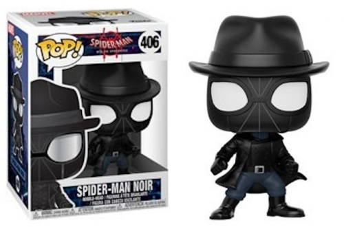 Funko POP Marvel Bobble: Spider-Man - Noir (Exc)