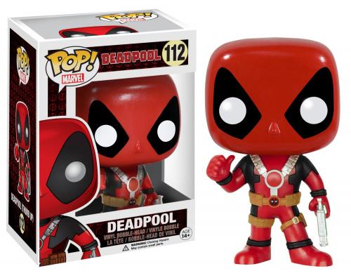 Funko POP Marvel Bobble: Deadpool - Thumb Up