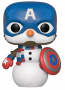 Funko POP Marvel: Holiday S2 - Cap Snowman America