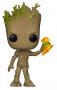 Funko POP Marvel: Infinity War S2- Groot w/ Stormbreaker
