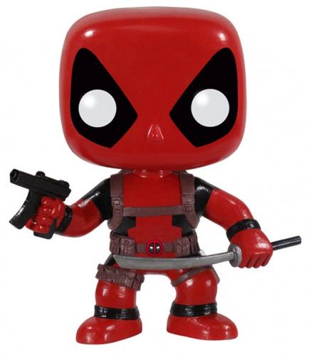 Funko POP Marvel Bobble: Deadpool