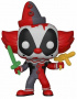 Funko POP Bobble: Marvel: Deadpool Playtime: Deadpool Clown