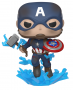 Funko POP Marvel: Endgame- Captain America with Broken Shield & Mjolnir