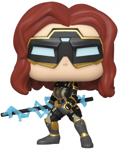 Funko POP Marvel: Avengers Game: Black Widow (Glow in the Dark Chase Possible)