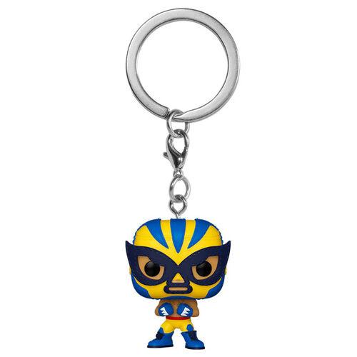 Funko POP Keychain: Marvel Luchadores - El Animal Indestructible (Wolverine)