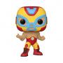 Funko POP Marvel: Luchadores - El Héroe Invicto (Iron Man)