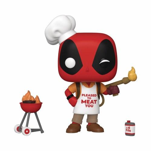 Funko POP Marvel: Deadpool 30th - Backyard Griller Deadpool