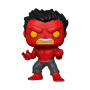Funko POP Marvel: Red Hulk (Glow Chase Possible)
