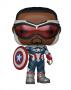 Funko POP Marvel: The Falcon and the Winter Soldier - Captain America