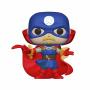 Funko POP Marvel: Infinity Warps - Soldier Supreme (Glow in the Dark)(Exclusive)