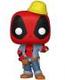 Funko POP Marvel: Deadpool 30th - Construction Worker (Exclusive)