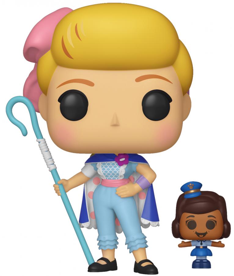 Funko POP Disney: Toy Story 4 - Bo Peep w/Officer McDimples