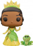 Funko POP Disney:The Princess and The Frog - Princess Tiana & Naveen (Glitter) (Exclusive)