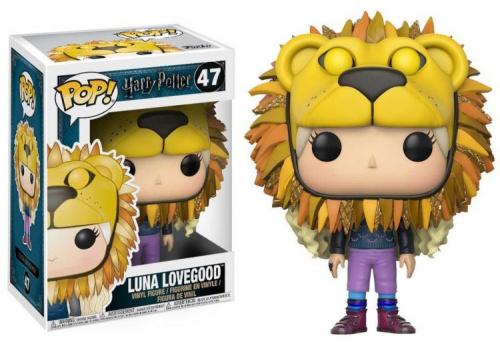 (nieaktywny) Funko POP Movies: Harry Potter - Luna Lovegood w/ Lion Head