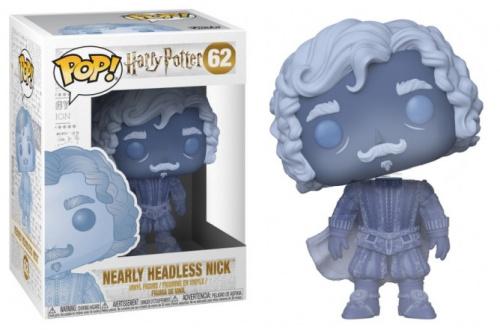 Funko POP Movies: Harry Potter - Nearly Headless Nick (Blue Trans)