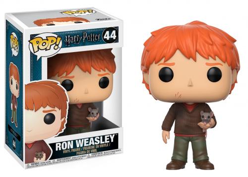 Funko POP Movies: Harry Potter - Ron Weasley w/ Scabbers