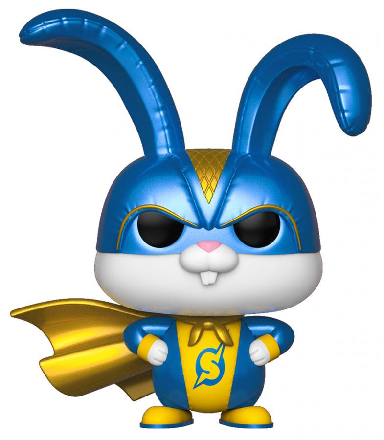 Funko POP Movies: Secret Life pf Pets 2 - Snowball in Superhero Suit