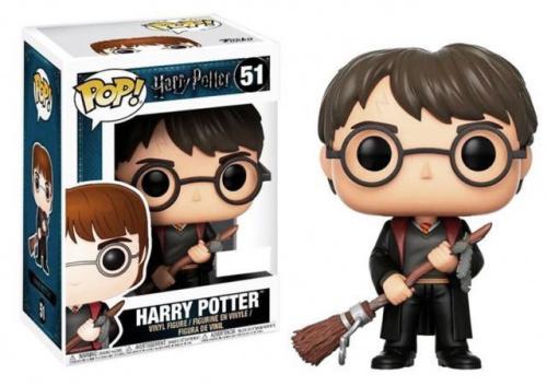 (nieaktywny) Funko POP Movies: Harry Potter - Harry Potter w/ Firebolt