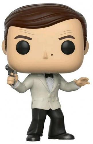 Funko POP Movies: James Bond - Roger Moore White Tux