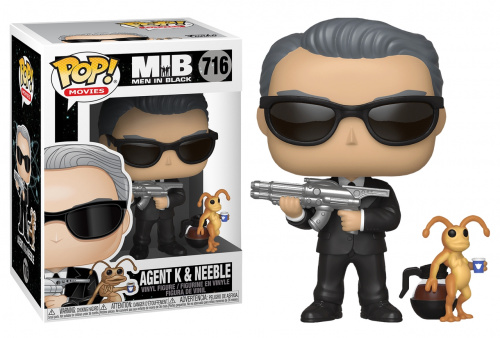 Funko POP Movies: Men In Black - Agent K & Neeble