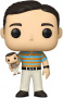 Funko POP Movies: 40 Year-Old Virgin - Andy Stitzer holding Oscar Goldman (Chase Possible)
