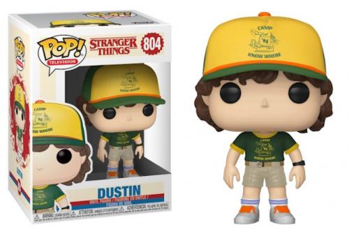 Funko POP TV: Stranger Things S3 - Dustin (At Camp)