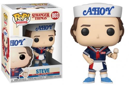 Funko POP TV: Stranger Things S3 - Steve w/Hat and Ice Cream