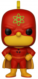 Funko POP Animation: Simpsons S2- Homer-Radioactive Man
