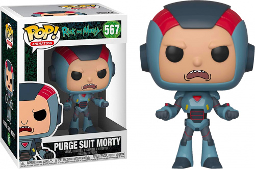 Funko POP Animation: R&M S6: Morty in Mech Suit