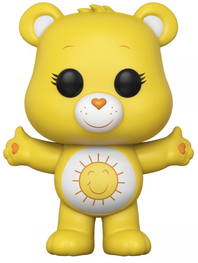 Funko POP: Care Bears - Funshine Bear  (GitD Chase Possible)