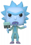 Funko POP Animation: Rick & Morty - Hologram Rick Clone