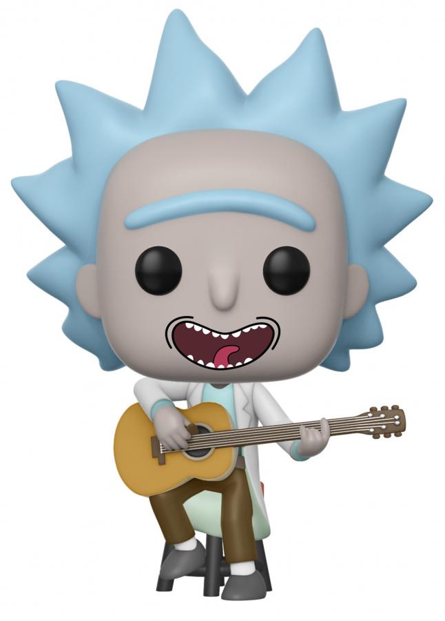 Funko POP Animation: Rick & Morty - Tiny Rick with Guitar