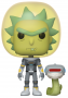 Funko POP Animation: Rick & Morty - Space Suit Rick (with snake)