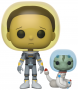 Funko POP Animation: Rick & Morty - Space Suit Morty (with snake)