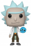 Funko POP Animation: Rick & Morty - Rick with Crystal Skull