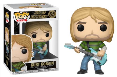 (nieaktywny) Funko POP Rocks: Nirvana - Kurt Cobain (Teen Spirit)