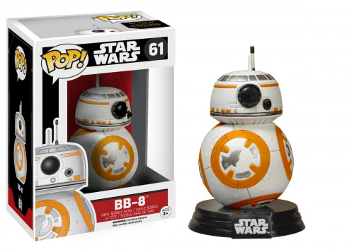 Funko POP Star Wars Bobble: E7 - BB-8