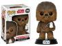 Funko POP Star Wars Bobble: E8 - Chewbacca w/ Porg
