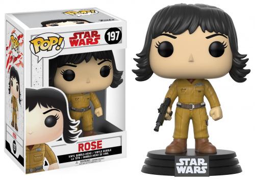 Funko POP Star Wars Bobble: E8 - Rose