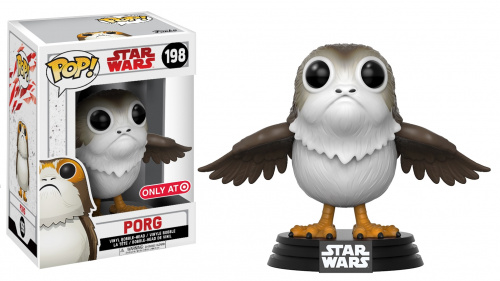 Funko POP Star Wars Bobble: E8 - Porg (Exc)