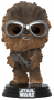 Funko POP Bobble: Star Wars: Solo: Chewbacca w/ Goggles (Flocked) (Exclusive)
